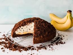 maulwurfkuchen mit banane