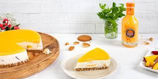 kuchen ohne backen rezept verpoorten pfirsich maracuja cheesecake