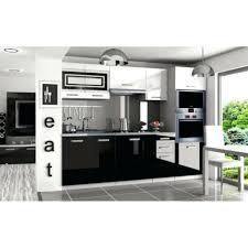 cuisine noir laqué pas cher cuisine complete noir laque prix dune ikea avec electromenager pas