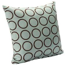 nicole miller home feather filled decorative pillow 20x20