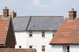 100 Contemporary Housing Suburban Housing Estate Modern White House With