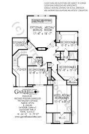 100 The Willow House Plan Cottage Garrell Associates Inc