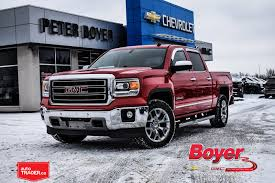 100 Pickup Truck Trader Used 2014 GMC Sierra 1500 For Sale At Peter Boyer Chevrolet Buick