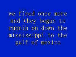 Johnny Horton Sink The Bismarck Karaoke by Battle Of New Orleans Lyrics Johnny Horton Youtube