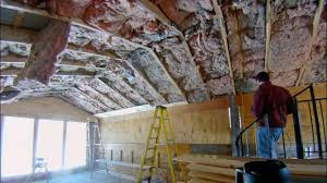 Insulated Cathedral Ceiling Panels by Installing 1x7 Tongue And Groove Pine On The Ceiling Part 1
