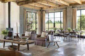 Splashy Rustic Tuscan Decor In Livi English Traditional Farmhouse Interiors