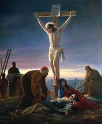 Artwork Depicting The Sacrifice Of Jesus Christ On Cross By Carl Heinrich Bloch