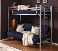 canape lit superpose canapé lit superposé 3 couchages avec matelas dupen