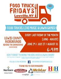 100 Food Truck Friday First Of 2018 Slated For June 29 Lewis County