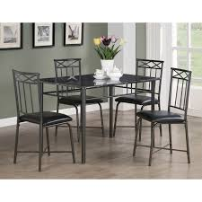Kitchen Table Chairs Under 200 by Monarch Falkville 5 Piece Dining Table Set Hayneedle