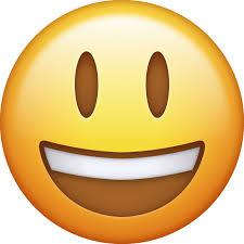 Download Big Smiling Iphone Emoji JPG