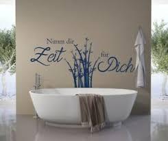 details zu wandtattoo nimm dir zeit für dich wandaufkleber badezimmer bambus spruch a198