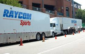 100 Production Truck Experiencing Raycoms TV Production Of A Syracuse Basketball Game