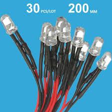 2018 wholesale dc 12v pre wired led diode 12 volt light emitting