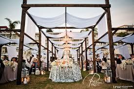 Beach Or Ballroom Wedding Reception Custom Event Productions