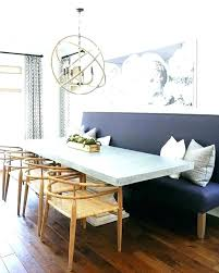 Fabric Benches With Backs Upholstered Dining Room Bench Back Incredible Table Seat Best