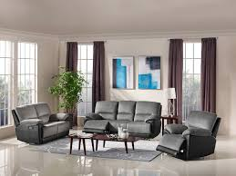 Wall Saver Reclining Couch by Arabia Reclining 3 Pc Sofa Set Fabric Code B23 Gray Husky