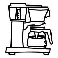 200x200 Coffee Machine Icons Noun Project