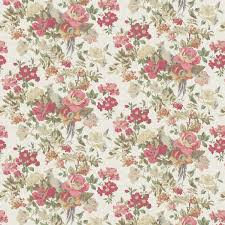Floral Vintage Wallpaper Pattern Royalty Free Cliparts Vectors