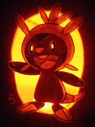 Easy Pokemon Pumpkin Carving Patterns by Grass Type Chespin Pumpkin By Johwee On Deviantart
