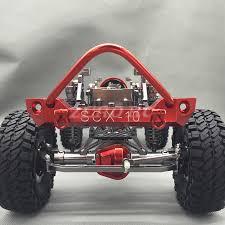 100 Axial Rc Trucks 110 Crawler Truck Bull Bar SCX10 CNC Alloy Poison Front