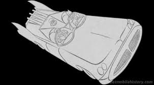Another Coloring Book Batmobile Appeared In 1967 Among The Drawings Of Batman Robin And Their Heroic Deeds Was This Action Shot Leaving