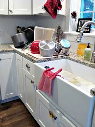 Kohler Whitehaven Sink Scratches by Our Farmhouse Sink Tips To Clean And Care For Porcelain Sinks