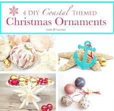 Beach Themed Christmas Decorations Tree Ornaments 4 Easy Coastal