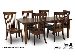 Classic 7 Piece Dining Set With Slat Back Chairs By Amish Impressions By  Fusion Designs At Ruby Gordon Home Ding Room Kitchen Fniture Biltrite Of Milwaukee Wi Curries Fnituretraverse City Mi Franklin Amish Table 4 Chairs By Indiana At Walkers Daniels Millsdale Rectangular Wchester Solid Wood Belfort And Barstools Buckeye Arm Chair Pilgrim Gorgeous Elm Made Ding Room Set In Millers Door County 5piece Custom Leg Maple Lancaster With Tables Home Design Ideas Light Blue Old Farm Sawnbeam 5 X 3 Offwhite Painted With Matching