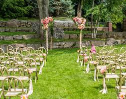 2015 Bohemian Chic Outdoor Garden Wedding Cerenomy Decorations Ideas