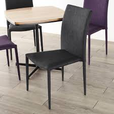 Inspiring Purple Fabric Dining Room Chairs Splendid Gray ...