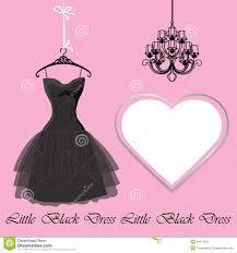 Black Dress Clipart Pink 1
