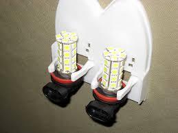 testing led lights for cars h8 h11 led fog lights vs halogen