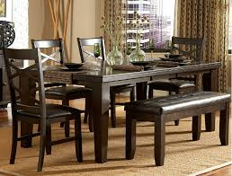 bench dining set dining bench for round dining table ballard