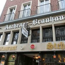 great german traditional food review of aachener brauhaus