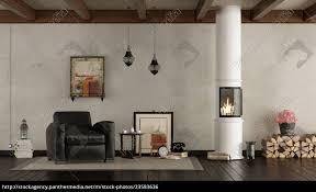 lizenzfreies foto 23583636 retro wohnzimmer mit holzofen