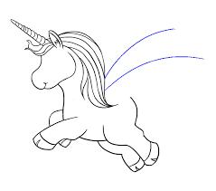 How To Draw Unicorn Step 14