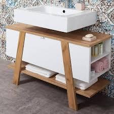 badezimmer waschbecken unterschrank sopot 01 in supermatt weiß mit nav
