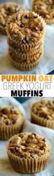 Vegan Pumpkin Muffins No Oil by Pumpkin Oat Greek Yogurt Muffins