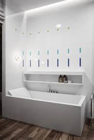 kleine und moderne badezimmer mit badewanne rechteckige