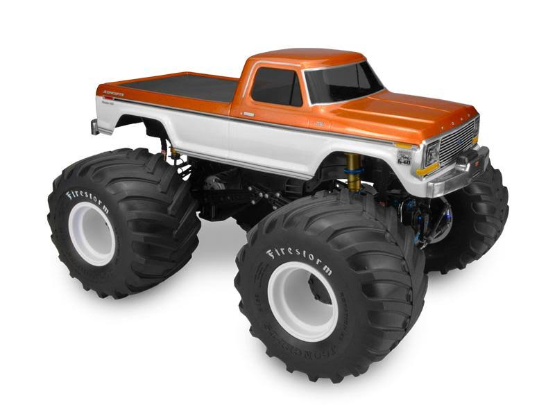 JConcepts 1979 Ford F250 Monster Truck Clear Body