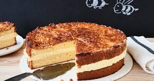schneller bienenstich schnell lecker mit vanillecreme