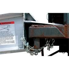 20,000-lb Capacity Vestil Aluminum Yard Ramp, 30'L X 74