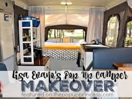 Lisa Evanos Pop Up Camper Makeover