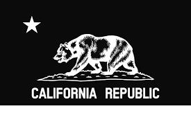 Bear Flag Mixed Media