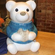 Berenstain Bears Christmas Tree 1979 by Teddy Bear Cookie Jar Vintage Cookie Jar Antique Bear Cookie Jar