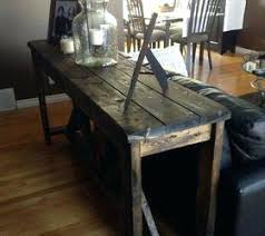 Diy Rustic Console Table Hometalk Tables X Plans
