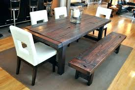 Industrial Farm Table Top Conference Dining Vintage With Regard To Rustic Ideas Solid