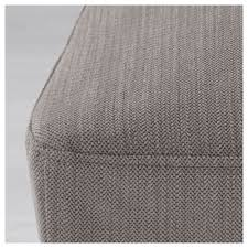 henriksdal chair cover nolhaga grey beige ikea