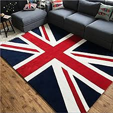 chambre des angleterre tapis style angleterre tapis drapeau anglais pour salon chambre